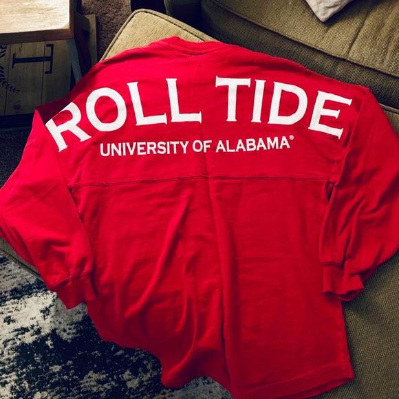 uk availability fcb6d a1c19 Alabama Spirit Jersey Shirt
